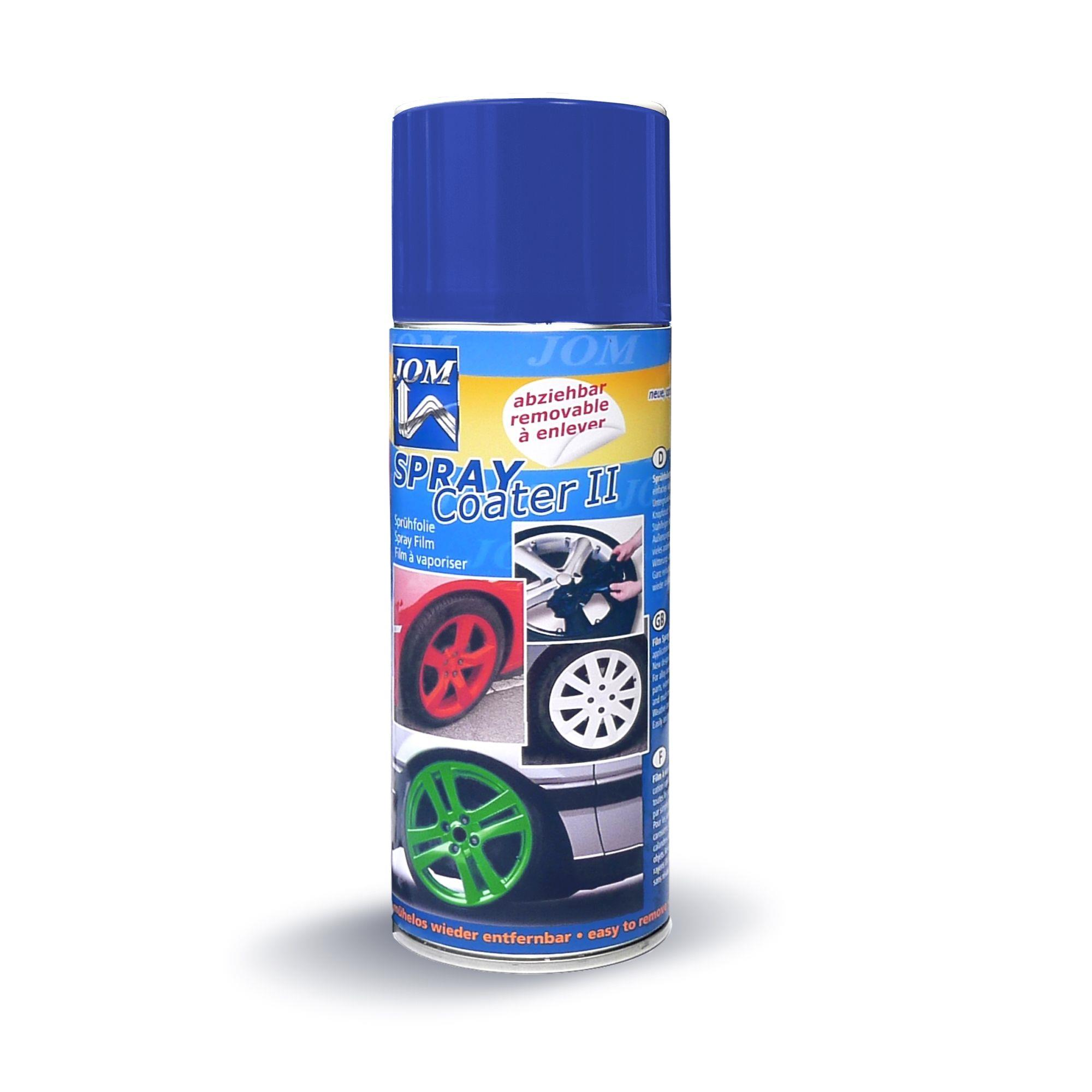 JOM barva na kola - folie ve spreji - modrá
