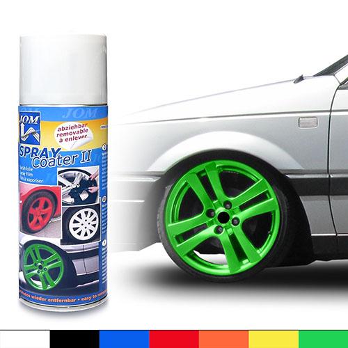 JOM barva na kola - folie ve spreji - zelená