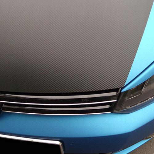 Carbon (karbonová) folie XXL - 3D textura 152x200cm, černá