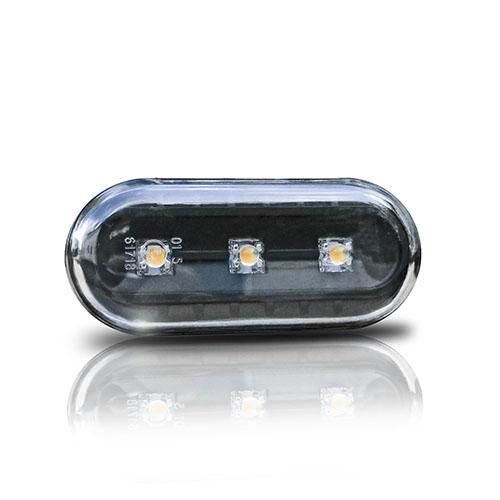 Boční blinkry VW Golf IV / Bora s LED, černé