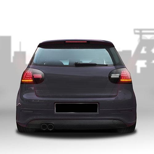 Zadní světla VW Golf V (5; 03-08) s LED, černá