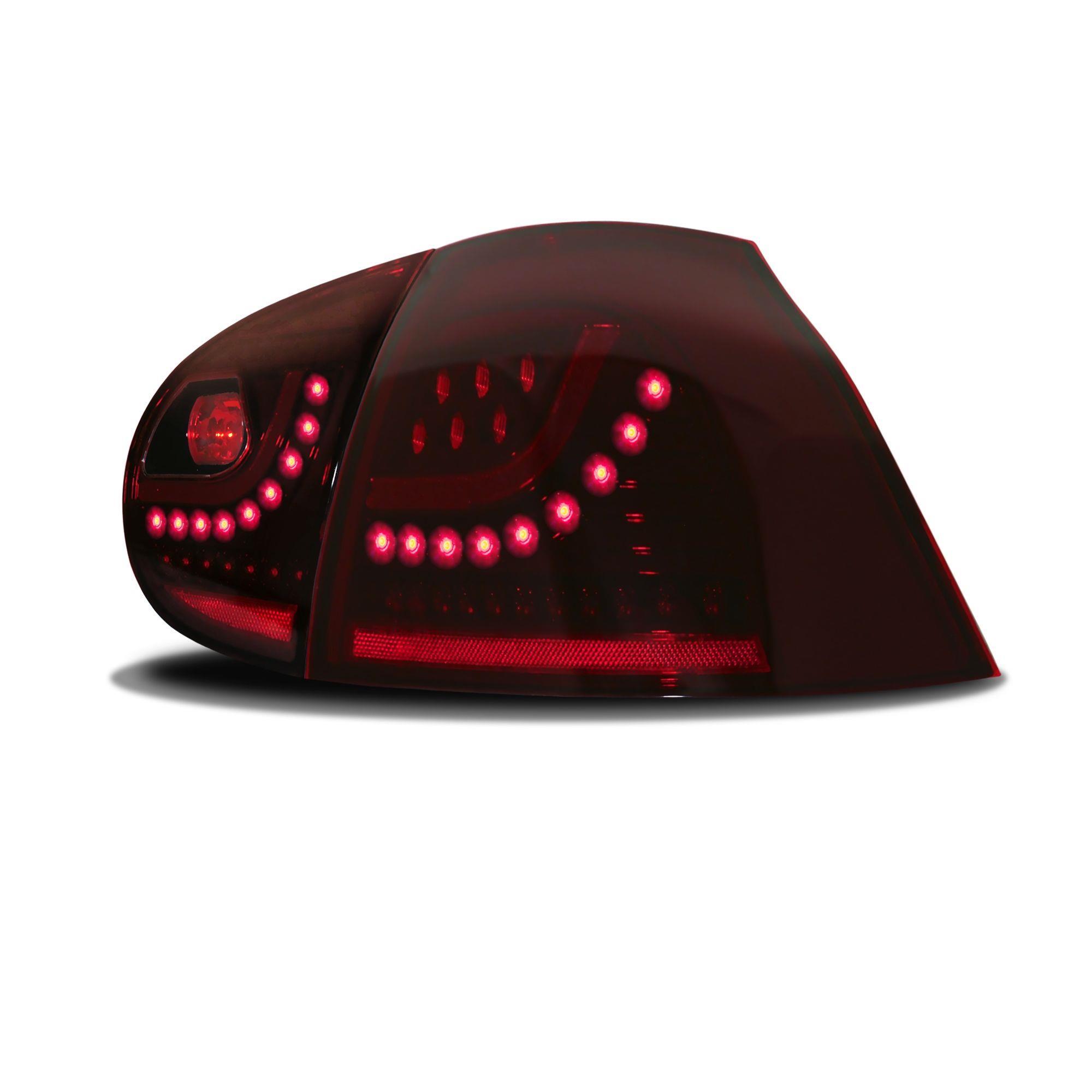 Zadní světla VW Golf V (5) s LED - Urban Style, červená
