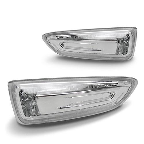 Boční blinkry Opel Crossland X - chrom