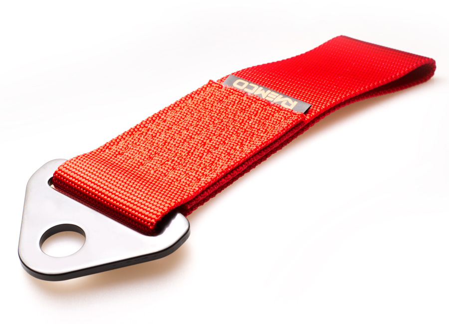 Raemco textilní tažné oko - červené