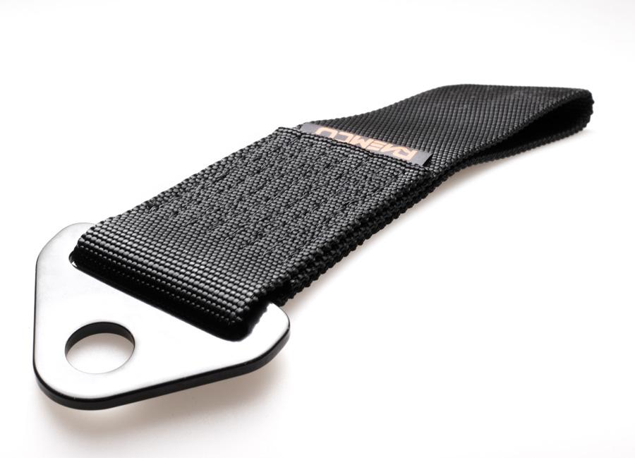 Raemco textilní tažné oko - černé