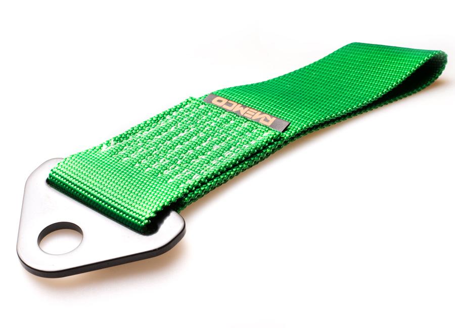 Raemco textilní tažné oko - zelené