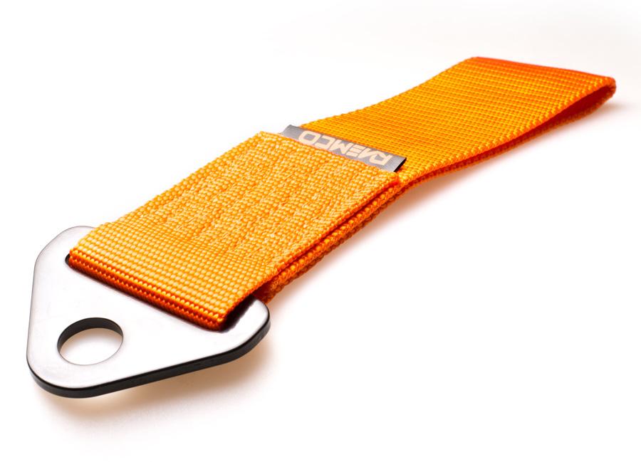 Raemco textilní tažné oko - oranžové