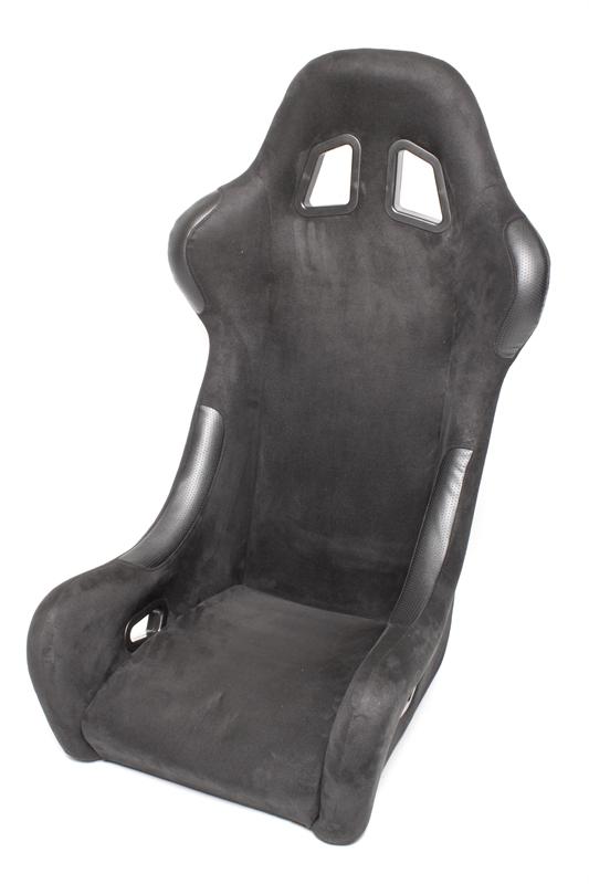 TA Technix sportovní sedačka - černá, Alcantara