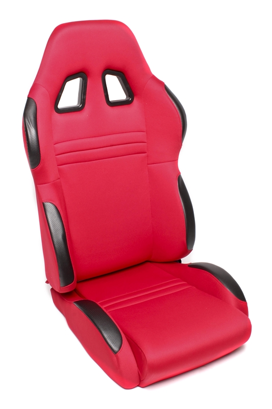 TA Technix sportovní sedačka sklopná - červená, levá