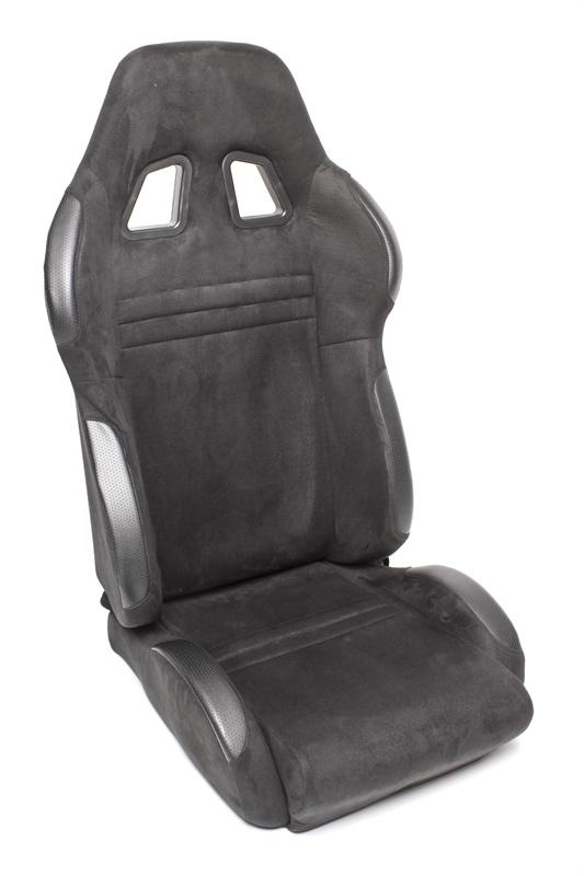 TA Technix sportovní sedačka sklopná - černá Alcantara, levá