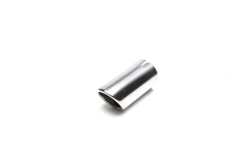 TA Technix koncovka výfuku nerezová - elipsa / zkosená, 60x68mm