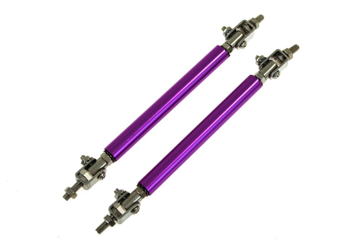 Hliníkové vzpěry spoilerů a difuzorů - fialové, délka 150 mm