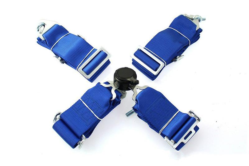 """Čtyřbodové pásy GPX - modré, šířka 3"""""""