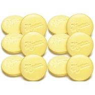 Meguiars Soft Foam Applicator Pads - pěnové aplikátory (12 kusů)