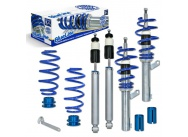 JOM Blue Line výškově stavitelný podvozek VW Passat (3C, B6) včetně Variant a 4-motion 1.6, 2.0, 2.0T / DSG, 1.9TDi