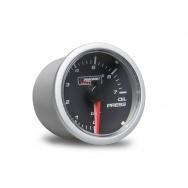 PROSPORT Clear Lens přídavný ukazatel tlaku oleje 0-7bar s čirým překrytím