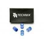 TA Technix čepičky ventilků - modré