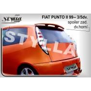 Stylla spoiler zadních dveří Fiat Punto II 3dv + 5dv (1999 - 2010) - horní