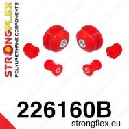 Strongflex sportovní silentblok Seat Ibiza 6J, sada pro přední nápravu