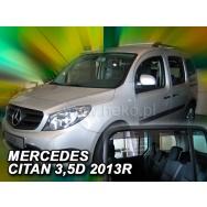 HEKO ofuky oken Mercedes Benz Citan W415 5dv (2012-) přední + zadní