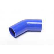 TurboWorks silikonová hadice - koleno 45° - 60mm vnitřní průměr, délka 100mm