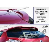 Stylla spoiler zadních dveří Renault Megane III htb (2008 - 2016)
