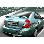 Stylla spoiler zadního víka Hyundai Accent sedan (od 2006)