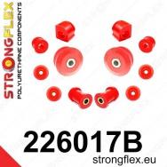 Strongflex sportovní silentbloky Seat Ibiza 93-02, sada pro přední nápravu