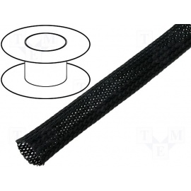 Flexo oplet 30 mm černý