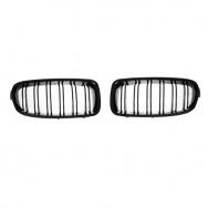 JOM ledvinky přední kapoty BMW 3 (typ F30 / F31, r. v. 2011-2015) - černé, M Style