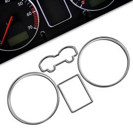 Chromované rámečky budíků VW Golf IV