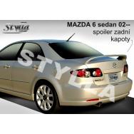 Stylla spoiler zadního víka Mazda 6 sedan (2002 - 2007)