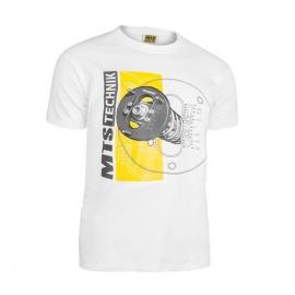 MTS Technik Camber tričko - bílá