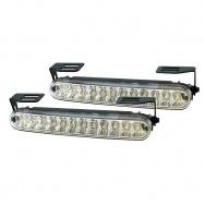 LED světla PIRANHA pro denní svícení s homologací ECE R87, šířka 160mm
