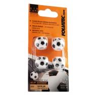 Foliatec čepičky ventilků - fotbalové míče
