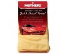 Mothers Microfiber Ultra-Soft Quick Detail Towel - ultrajemný detailingový ručník, 50 x 60 cm