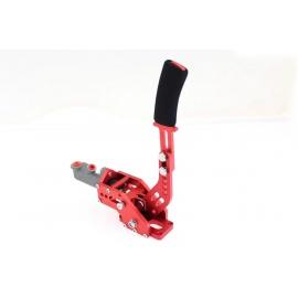 Hydraulická ruční brzda s brzd.válcem - červená