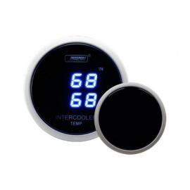 PROSPORT duální digitální ukazatel teploty vzduchu s modrým podsvícením