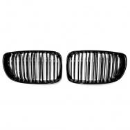 JOM ledvinky přední kapoty BMW 1 (r. v. 2007-2011) - černé, M Style