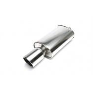 TA Technix sportovní nerezový tlumič výfuku - zkosená kulatá koncovka, průměr 115mm