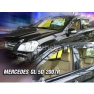 HEKO ofuky oken Mercedes Benz GL X164 5dv (2007-2012) přední + zadní