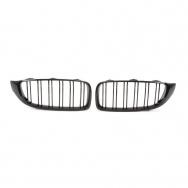 JOM ledvinky přední kapoty BMW 3 (typ F32 / F33 / F36, r. v. od 2013) - černé, M Style