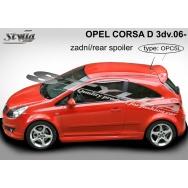 Stylla spoiler zadních dveří Opel Corsa D 3dv (2006 - 2014)