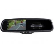 Monitor v zrcátku BMW/Peugeot ztmavovací AK-043LAD