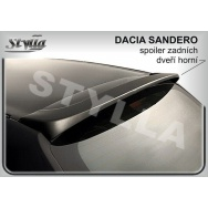 Stylla spoiler zadních dveří Dacia Sandero I (2007 - 2012) - horní