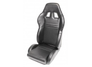 TA Technix sportovní sedačka sklopná - černá koženka, pravá