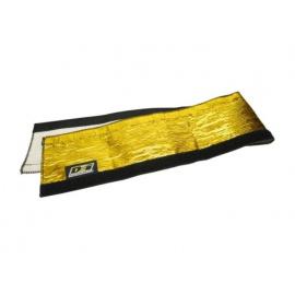 DEi Design Engineering zlatá tepelně izolační objímka Heat Shroud Gold se suchým zipem, délka 90,5 cm