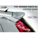 Stylla spoiler zadních dveří Fiat Grande Punto (2005 - 2009) - horní