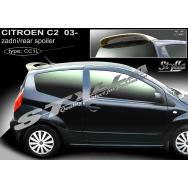 Stylla spoiler zadních dveří Citroen C2 (2003 - 2009) - horní