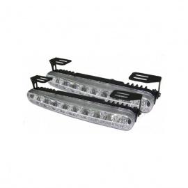 LED světla PIRANHA pro denní svícení s homologací ECE R87, šířka 182mm